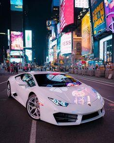 "Luxury Cars Bugatti Expensive Bentley 4 Door Tesla Maserati Ferrari Audi Cadillac Lamborghini Porsche 👉 Get Your FREE Guide ""The Best Ways To Make Money Online"" Lamborghini Huracan, Maserati, Koenigsegg, White Lamborghini, Ferrari 458, Sports Cars Lamborghini, Lamborghini Diablo, Nyc, Sexy Autos"