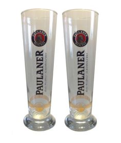 PAULANER-2-bicchieri-di-birra-0-5-LITRI-grano-NUOVO  #paulaner #cerveza #birra #øl #bière #beer #bia #olut #μπύρα #啤 #באר #bir #beoir #bjór #cerveja #bira #сыра #pivə #cervesa #pivo #alus #Шарайраг #bier #piwo #bere #пиво #gifts #giftideas
