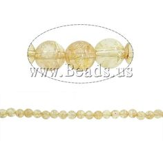 Crackle Quartz Beads Citrine Round November Birthstone Lime Approx Approx Inc,china wholesale jewelry beads Crystal Beads, Gemstone Beads, Glass Beads, Crystals, Semi Precious Beads, Lampwork Beads, Wholesale Jewelry, Birthstones, Beaded Jewelry