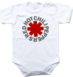 Baby bodysuit RED hot CHILI PEPPERS rhcp rock funk hard rock One Piece Bodysuit Funny Baby Onesie Child boy girlen's Clothing Kid's Shower