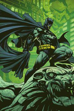 super-nerd:  Batman by Pat Lee