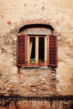 Tuscany Photograph Fine Art Photography windows