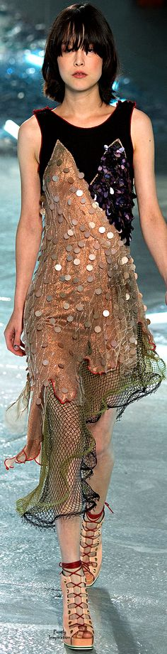 Rodarte SS 2015 (Love this!) | Style.com ᘡղbᘠ #Provestra #Skinception #coupon code nicesup123 gets 25% off