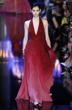 Red dress (Elie Saab)