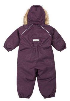 Reimatec down overall, Aapua Deep purple | Reima International Velcro Tape, New Uses, Snow Suit, Deep Purple, Stretch Fabric, Overalls, Hoodies, Fashion, Moda
