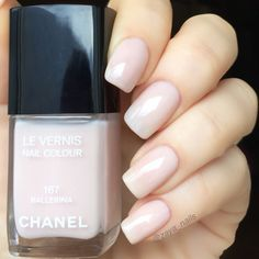 """Sheer tenderness, eternal classic by @chanelofficial """"Ballerina"""" - my choice for #itpantone2018 challenge held by Maria…"""