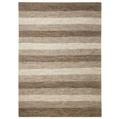 I like this! neutral/simple Can go with your black and/or brown Threshold Fairfield Stripe Area Rug - Natural