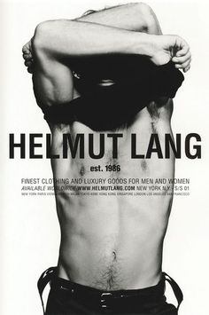 helmut lang campaign - Google Search