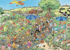 The March Scandinavia - - Jan van Haasteren puzzels Wheres Waldo, Puzzle Art, Comic Drawing, Space Crafts, Funny Art, Illustrations And Posters, Cartoon Art, Pixel Art, Coloring Books