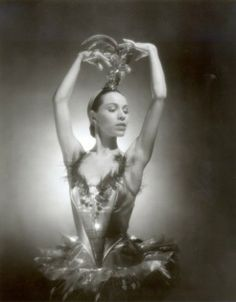 Elizabeth Marie Tall Chief aka Maria Tallchief,  considered the US's first prima ballerina and the first Native American prima ballerina.