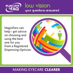 Do you know what your options for help with low vision?