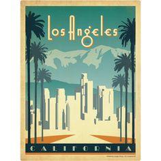 Los Angeles California Wall Decal