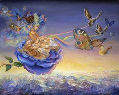 Butterfly Princess - Josephine Wall