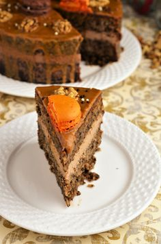 tort cu nuci si cafea Something Sweet, Cake Pops, Caramel, Food And Drink, Homemade, Cooking, Desserts, Recipes, Workshop