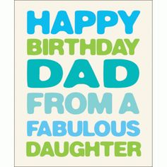 Birthday Card Free Happy Cards For Dad Fathers Day Hand Stamped Letter Press Vintage