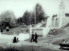Näsinpuisto ennen - Näsinpuisto Tampere on 6,2 hehtaarin kokoinen, 1900-luvun alussa rakennettu, vuonna 1909 valmistunut puisto, jonka suunnitteli kaupunginpuutarhuri Onni Karsten. Kuva: elamisenilo blogi