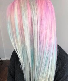 Pin by alicia avery on hair & beauty Cute Hair Colors, Bright Hair Colors, Hair Dye Colors, Cool Hair Color, Creative Hair Color, Dyed Hair Pastel, Pink Hair, Pastel Colored Hair, Pulp Riot Hair Color
