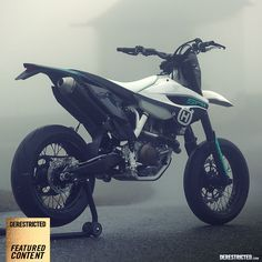 Husqvarna FS501 Supermoto custom build « Design « DERESTRICTED