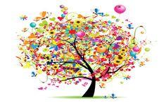 Happy Birthday tree - so cute and whimsical! Birthday Greetings, Birthday Wishes, Birthday Cards, Birthday Parties, Birthday Messages, Birthday Bash, Birthday Celebration, Happy Saturday, Happy Day