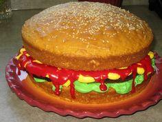 Hamburger Cake 2