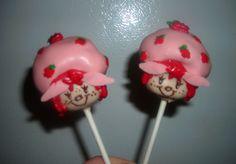 Strawberry Shortcake Cake Pops!! Crafted by: ~Cake Pops By AJ~