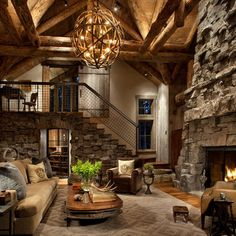 Living Photos Modern Mountain Cabin Design, Pictures, Remodel, Decor and Ideas - page 3