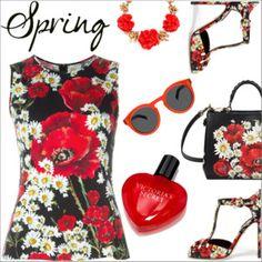 Spring scent