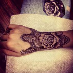 Wrist tattoo. Love. #Tattoo