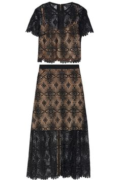 Giovanna guipure lace blouse and maxi skirt set   Catherine Deane   US   THE OUTNET