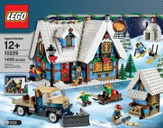 Here is the newest addition to the LEGO Winter Village Series; the LEGO Winter Village Cottage. Lego Christmas Village, Lego Winter Village, Lego Creator, Lego Sets, Lego Age, Lego House, Cool Lego, Lego Building, Building Ideas