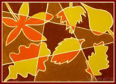 Kids Artists: Autumn leaves in cubist style – Kunstunterricht Fall Art Projects, School Art Projects, Artists For Kids, Art For Kids, Kid Art, Autumn Art, Autumn Leaves, 4th Grade Art, Art Lessons Elementary