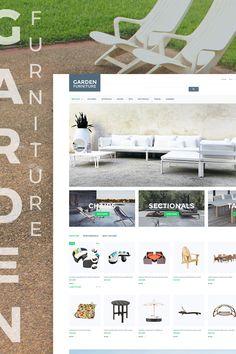 Garden Furniture PrestaShop Theme Big Screenshot