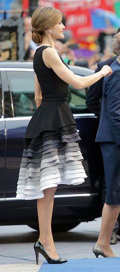 Royals & Fashion: Remise des prix Princesse des Asturies - Cérémonie