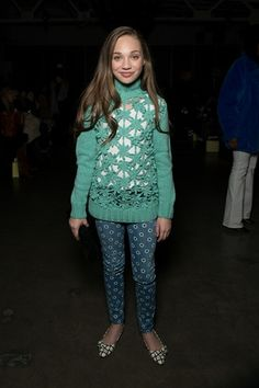 While we love seeing all the clothes at New York Fashion Week th. Maddie Ziegler, Mackenzie Ziegler, Dance Moms Dancers, Dance Moms Girls, Chloe Kendall, Dance Moms Quotes, Maddie And Mackenzie, Age, Japanese Street Fashion