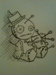 Voodoo Doll by ashtray-zombies.deviantart.com on @deviantART