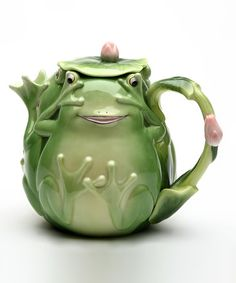 Look at this #zulilyfind! Frog Teapot #zulilyfinds