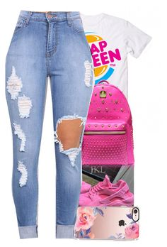 """""""2/12/17"""" by monet-princessa ❤ liked on Polyvore featuring Casetify and MCM"""