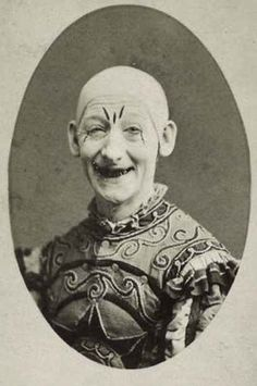 OMG, everything about this photo!!! | 21 Vintage Clown Photos That Will Make Your Skin Crawl