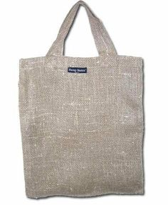 Hemp Sackcloth Shopping Bag Made by: Hemp Basics $12.00 This bag ...