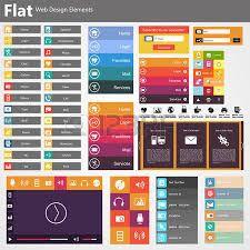 Resultado de imagen de pinterest diseño flat web