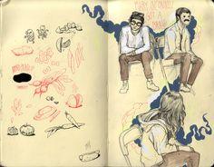 sketchbook of Stephanie Brown