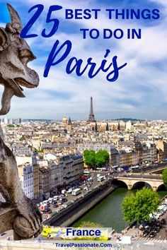 The best things to do in Paris France from my 7 day trip. A fun itinerray in Paris.