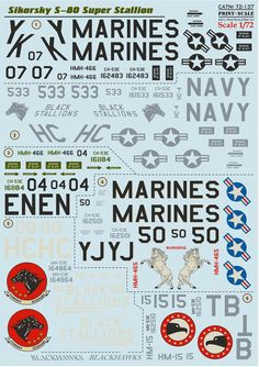 Plastic Models, Marines, Words, Decals, Fighter Aircraft, Tags, Sticker, Decal, Horse