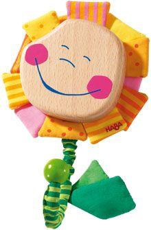 HABA - Erfinder für Kinder - Einzelhaken Blume Pippa - Garderoben + Wandhaken - Kinderzimmer - Spielzeug & Möbel