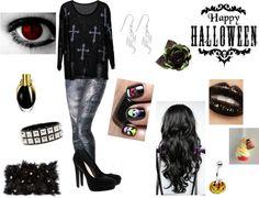 """""""Halloweennnn.."""" by julie-oreo-de-niall on Polyvore"""