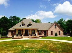 Plan 56352SM: French Country Home Plan With Bonus Room | Photo ...