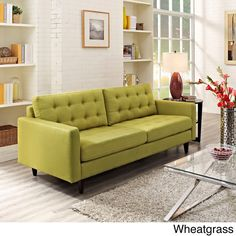 Empress Tufted Upholstered Sofa - Overstock™ Shopping - Great Deals on Modway Sofas & Loveseats $780