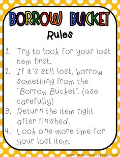 Borrow Bucket