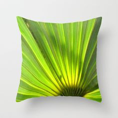 Light the Tropics Throw Pillow by Rosie Brown - $20.00
