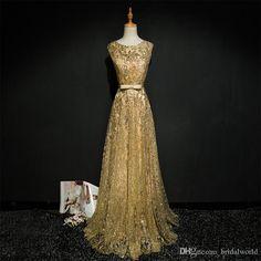 Walk Beside You Gold Evening Dresses Navy Blue Bling Long Vestido Longo De  Festa 2017 Formal Dress Evening Gown Prom Dresses Black Gowns Designer  Evening ... e700478de627